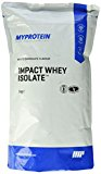 Myprotein Impact Whey Isolate Protein White Chocolate, 1er Pack (1 x 1 kg)